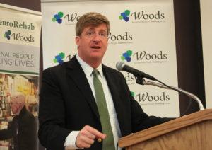 On Thursday, November 6, 2014, Beechwood NeuroRehab, a program of Woods, welcomed the Honorable Patrick J. Kennedy to its Stabler NeuroRehab Center dedication ceremony.